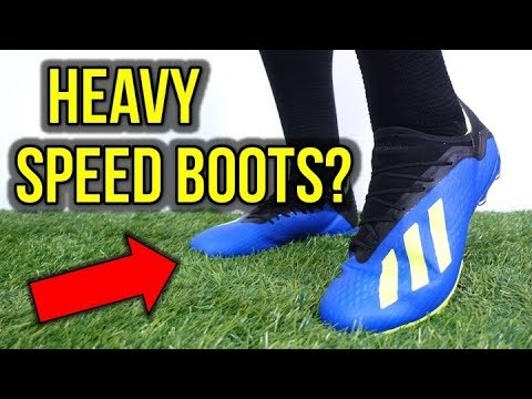 WHY ARE THEY SO HEAVY? - ADIDAS X 18.2 REVIEW + ON FEET