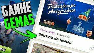 GANHE 2000 GEMAS FAZENDO APENAS 1 EVENTO NO CLASH OF CLANS !!