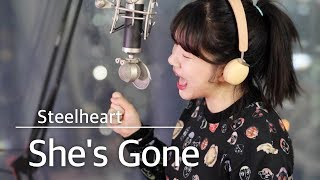 (+2 key up) She's gone - Steelheart cover | bubble dia