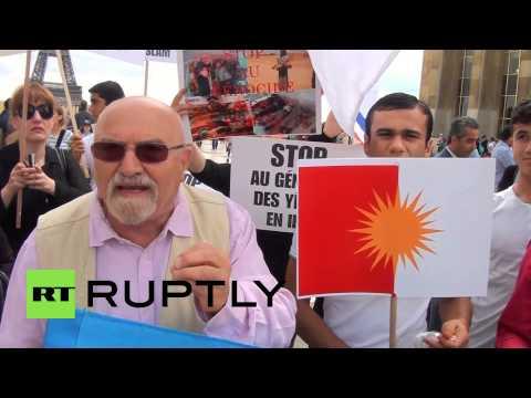France: Yezidis demand France intervene in Iraq
