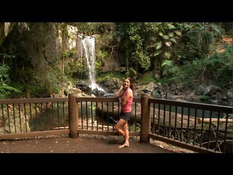 Curtis Falls Mount Tamborine Gold Coast Youtube
