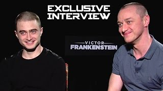 Daniel Radcliffe & James McAvoy Exclusive INTERVIEW - VICTOR FRANKENSTEIN (2015) - Продолжительность: 4 минуты 44 секунды