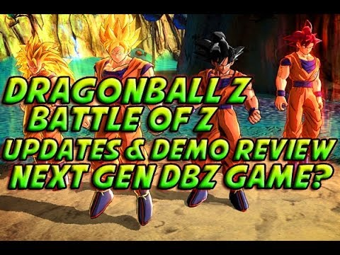 Dragonball Z: Battle Of Z - EXCLUSIVE GAMEPLAY! Demo Review + Next Gen DBZ Game? & More!