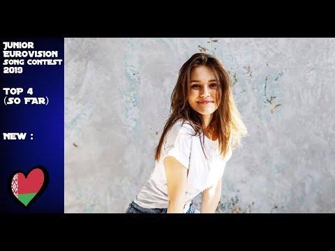 Junior Eurovision 2019 : My Top 4 (SO FAR) | + Belarus