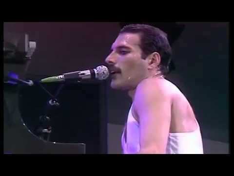 Queen - We Are The Champions (Live Aid,  Wembley Stadium, 1985)