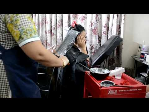 how to color hair professionally(nazia bilal)