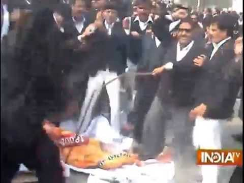 'Provoked' by BJP leader, HC lawyers to go on with strike
