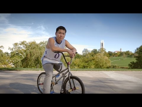 Explore KU: International student, BMX rider knows no bounds