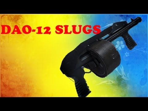 DAO-12 SLUGS - Battlefield 3 BEST SHOTGUN SETUP!