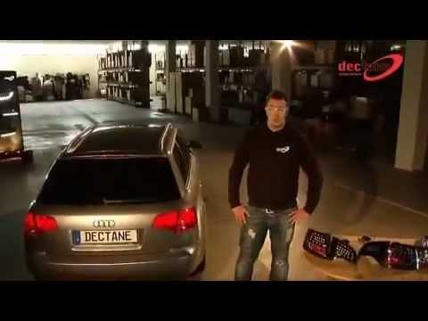 Montaż LITEC LED Lampy tylne Audi A4 Avant B7 04-08 - RA16LB