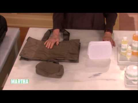 How to Pack a Suitcase⎢Martha Stewart