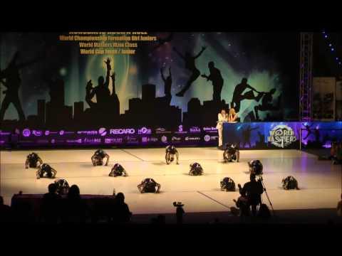 Finale Girlsformation - Weltmeisterschaft 2012
