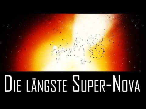 iPTF14hls: Die längste Super-Nova aller Zeiten