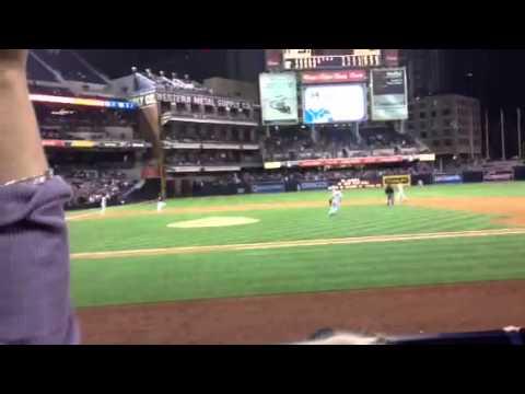 Padres Logan Forsythe Game winner