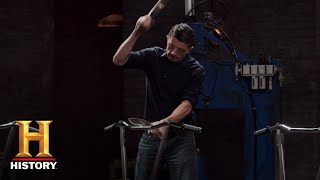 Forged in Fire: Motorcycle Blade Tests (Season 5, Episode 11) | History