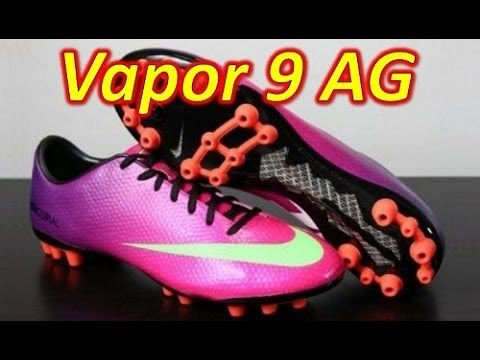 Nike Mercurial Vapor 9 IX AG Fireberry - Unboxing + On Feet