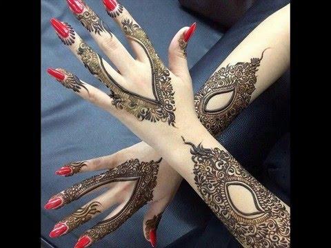 Stylish Arabic Mehndi Design For Bridal 2016