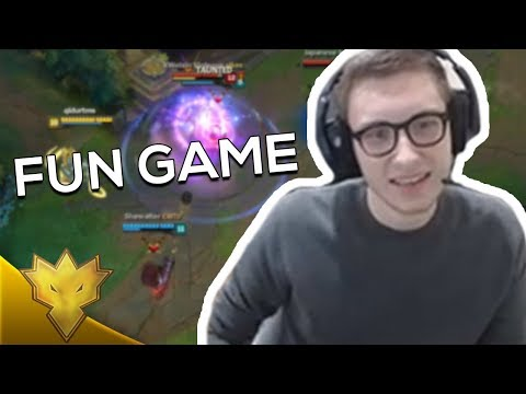 "TSM Bjergsen - ""THIS GAME LOOKS FUN"" - League of Legends Stream Highlights"