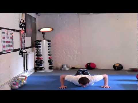 MATT GODDARD FITNESS 10 X PRESS UP WORK OUT - MGF .mov