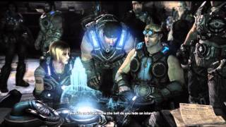 Gears Of War 3 Cutscenes Act 3 Part 1/2