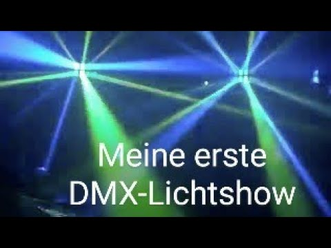 Meine erste kleine DMX-Lichtshow Oktober 2009