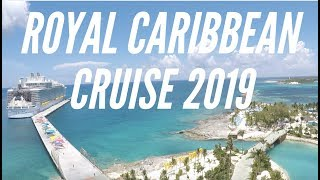 Royal Caribbean Cruise - Liu Family Vacation 2019 - Vlog 4