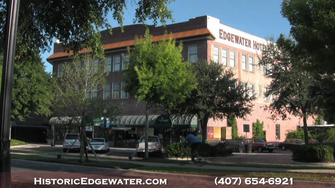 The Edgewater Hotel And Historic Winter Garden Video Tour Youtube