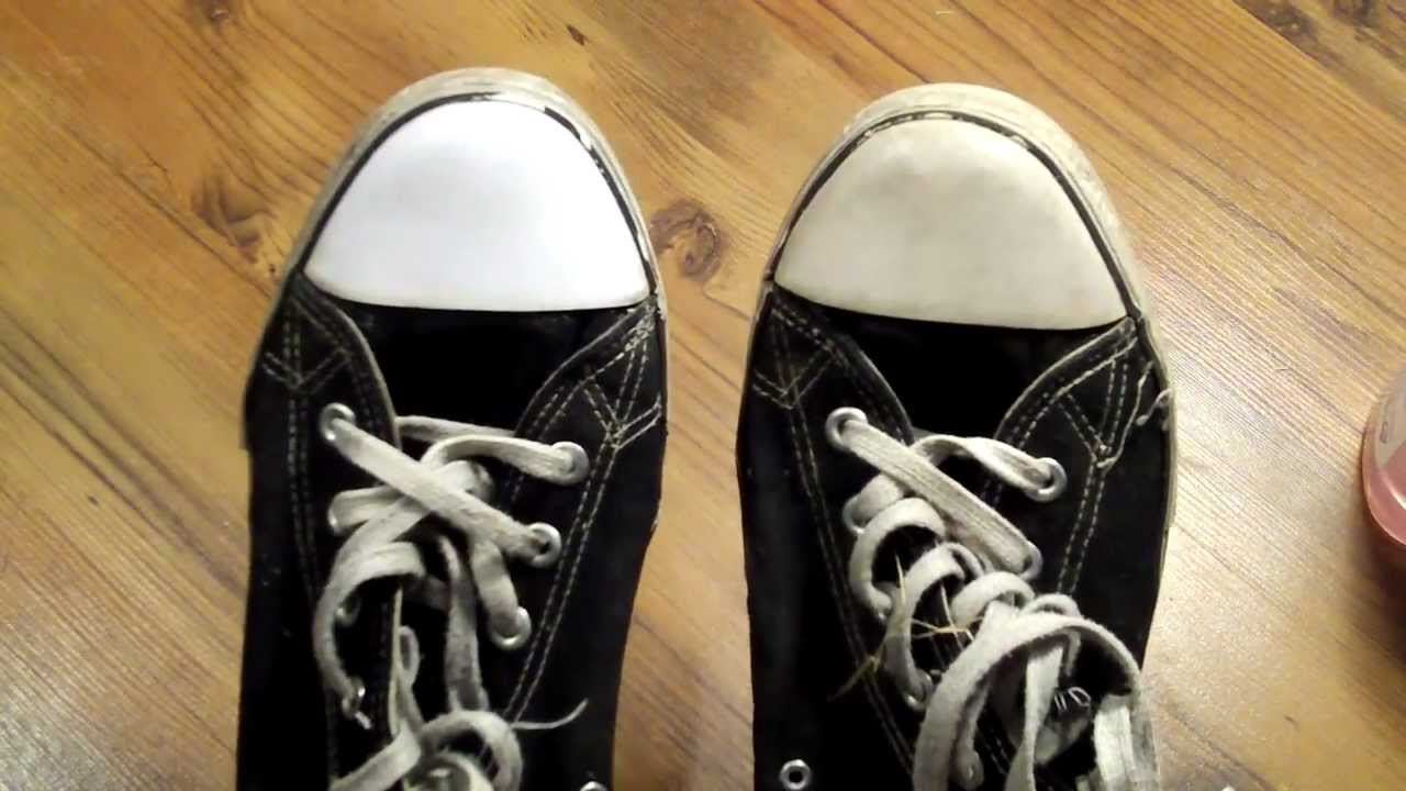 How To Clean Black Fabric Shoes
