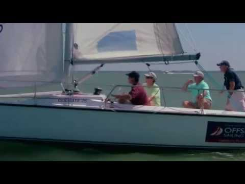 Offshore Sailing School - Easy Furling of Jib-Genoa