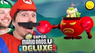 Mini-BOWSER will mit uns BOXEN! 🌰 NEW SUPER MARIO BROS U DELUXE