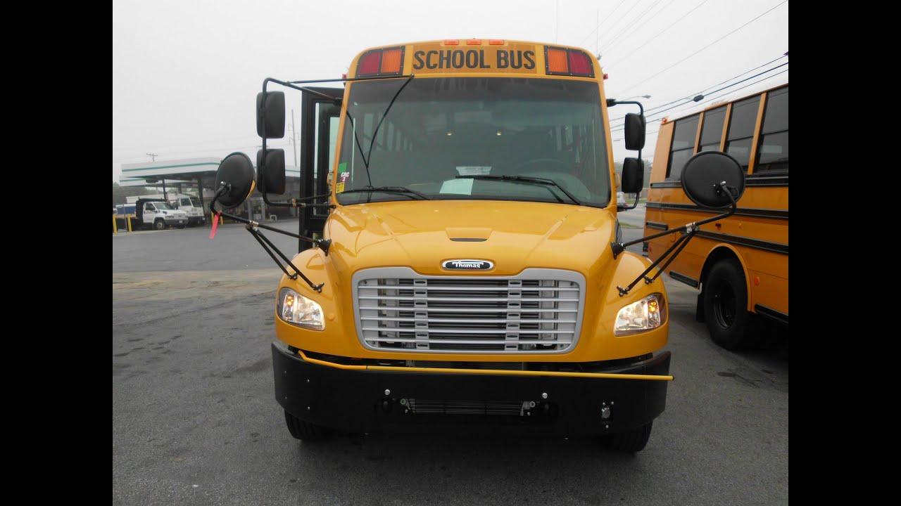 Thomas Built Buses >> 2014 Saf T Liner C2 - Maryland - YouTube