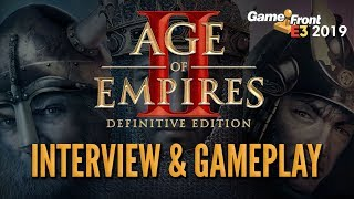 Age of Empires II: Definitive Edition Interview & Gameplay - GameFront @ E3 2019