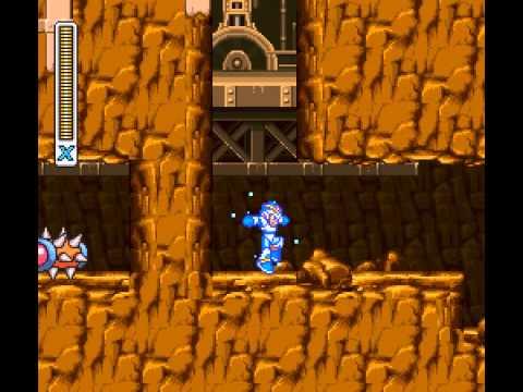 Mega Man X - Mega Man X Walkthrough Part 4 - User video