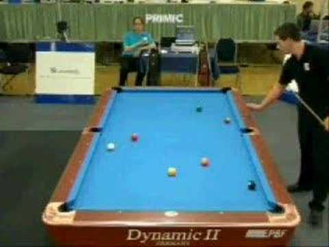 Kela, Jani (FIN) - Primic, Bozo (CRO), 9-ball pool billiards Video