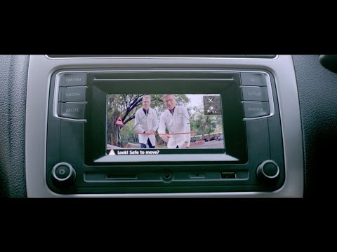 Reverse parking camera with the Volkswagen Ameo
