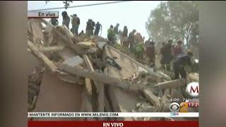 LATEST: 7.1 Magnitude Quake Kills 119 As Buildings Crumble In Mexico