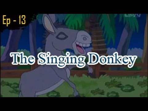The Singing Donkey | Panchatantra Tales | English Animated Stories For Kids video