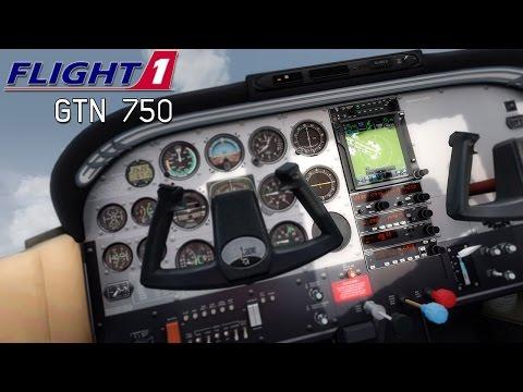 Flight1 Garmin GTN 750 GPS Review and Tutorial (FSX/FSX:SE/P3D)