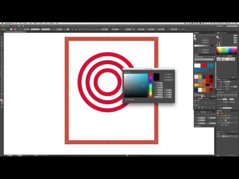 concentric circles and gaps in illustrator
