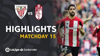 Highlights Athletic Club vs Granada CF (2-0)