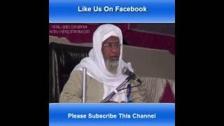 Byan Maulana Muneer Uddin Sb. Qasmi Teacher of Darul Uloom Deoband Part. 1/2