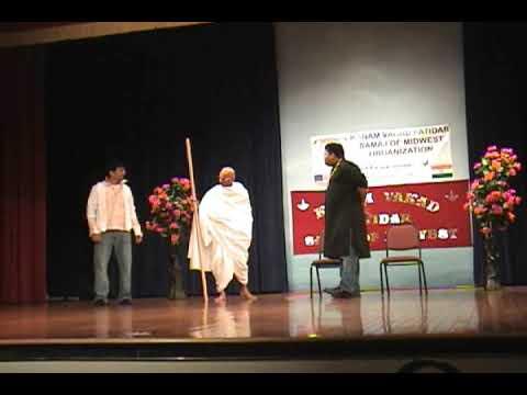 Munnabhai meets Gandhiji Play