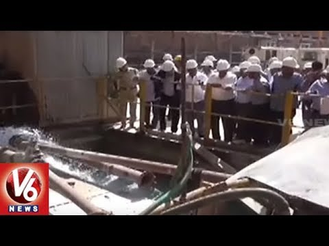 Retired Engineers Team Inspects Irrigation Projects Construction Work In Telangana State | V6 News