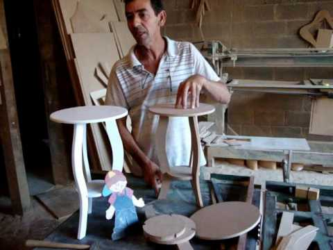 pe?as de artesanato em mdf - YouTube