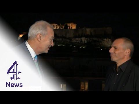 Yanis Varoufakis interview: 'Greece can start breathing again, growing' | Channel 4 News