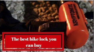 The Best Bike Lock| Kryptonite Evolution Series 4