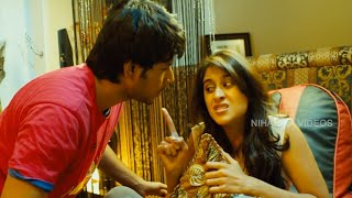 Regina Cassandra Fires On Sundeep Kishan And Argues With Him || Routine Love Story Movie Scenes
