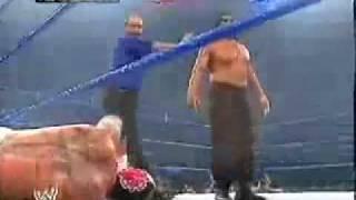 The Great Khali Vs Poor Rey MysterioFinlay and Batista Interrupt