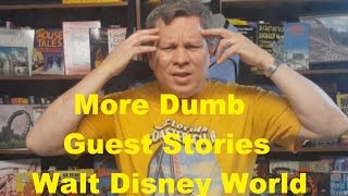 More Funny Stories About Dumb Disney World Guests- Ep. 20 Confessions of a Theme Park Worker