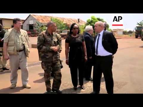 French Defence Minister visits tense region